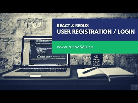 React Redux Tutorial - User Registration & Login - Part 2 thumbnail