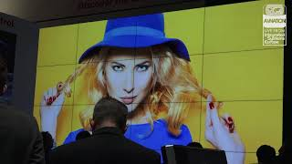 The award-winning Barco UniSee at ISE 2018