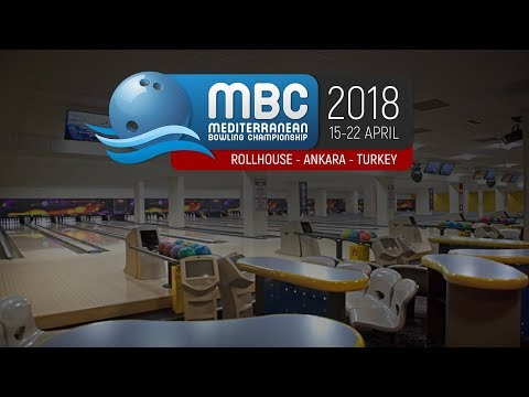 Mediterranean Bowling Championship 2018 - Medal Ceremony - Doubles