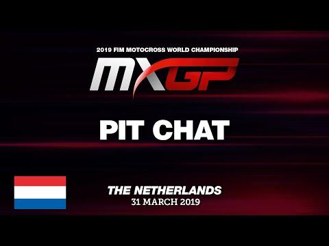Pit Chat - Calvin Vlaanderen - MXGP of the Netherlands - Valkenswaard 2019 #Motocross