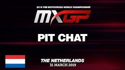 Pit Chat - Calvin Vlaanderen - MXGP of the Netherlands - Valkenswaard 2019 #Motocross