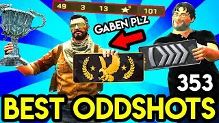 He DERANK after a WIN TWICE ! (49 FRAGS 100+ POINTS) - CS:GO BEST ODDSHOTS #352