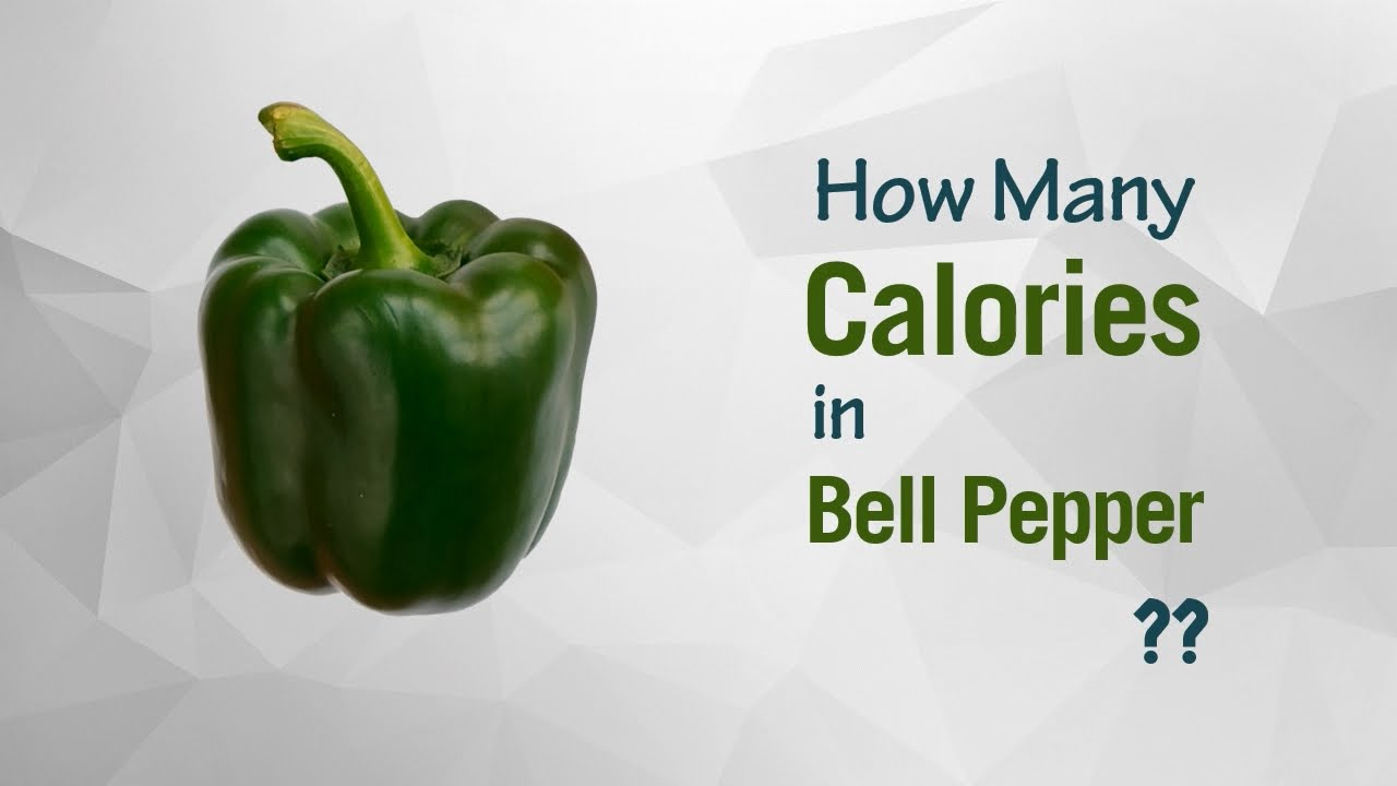 healthwise: diet calories, how many calories in bell pepper