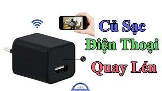 Camera Ngụy Trang Cục Sạc Z99 Có WiFi Xem Từ Xa | Camera Ngụy Trang 2019