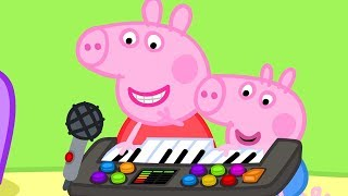 Peppa Pig Official Channel  �� New Season �� Peppa Pig Plays Funny Music