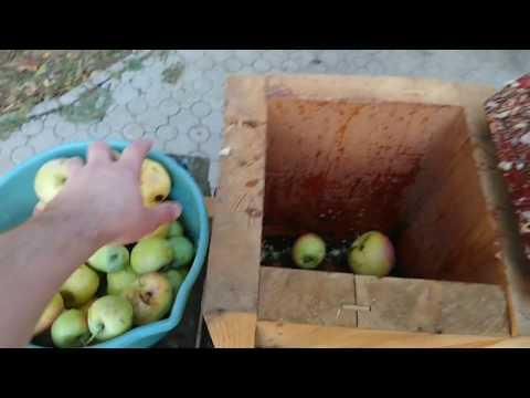 Яблочный сок очень просто и быстро. ENG SUB How I Making Apple Juice