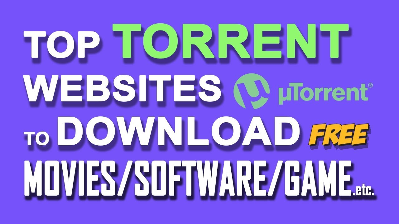 best torrent site 2018 for software