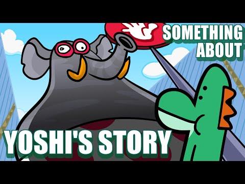 Something About Yoshi's Story ANIMATED (Loud Sound \u0026 Flashing Lights Warning) 📗 🦎