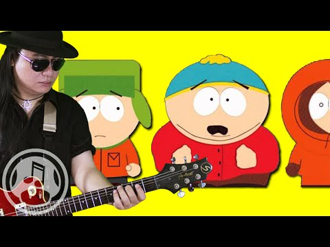 South Park Rock Medley  Blame CanadaUncle F*ckaEtc Guitar   String Player Gamer