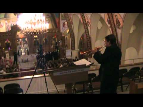 Trumpet Wedding Processional - Canon in D and Bridal Chorus - Tom Parsons, Philadelphia, PA