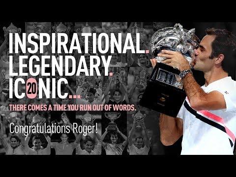 Roger Federer 20th Grand Slam Victory Tribute