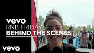 Vevo - RnB Fridays Live – Behind The Scenes with Ash London