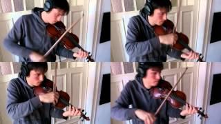 Doraemon No Uta. Opening Theme, 4 Violins