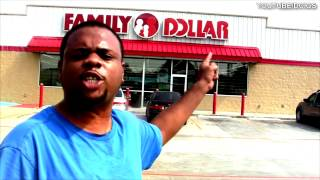 BLACK MAN ANGRY AT FAMILY DOLLAR @SIGGAS