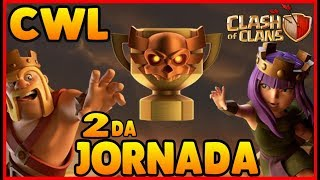 CLAN WAR LEAGUES 2da JORNADA DESDE CLAN DE SUBS ATACANDO EN DIRECTO CLASH OF CLANS guillenlp28
