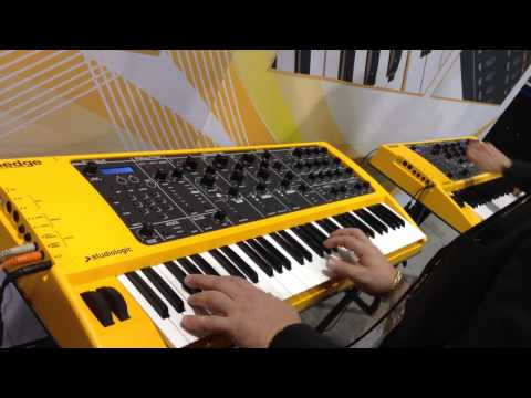 Kraft Music - Studiologic Sledge Synth Demo at NAMM 2013