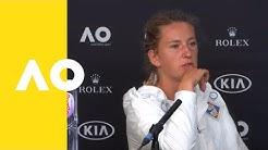 Victoria Azarenka press conference (1R) | Australian Open 2019