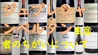 【ワイン】ジュブレシャンベルタンの生産者たち【ワインをもっと身近に】