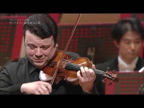 Prokofiev: Violin Concerto No.2 / Vadim Gluzman & Vassily Sinaisky (2014)
