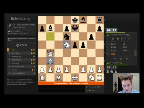 Halloween Livestream: Scary Gambits on lichess!