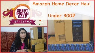 Amazon Home Decor Haul Under 300 L Amazon Great Indian Sale 2020 L Amazon Haul 2020 L Amazon Haul Youtube