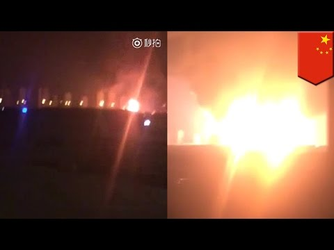 China Explosion HUGE EXPLOSION IN CHINA   ALL ANGLES COMPILATION HD #Tianjin