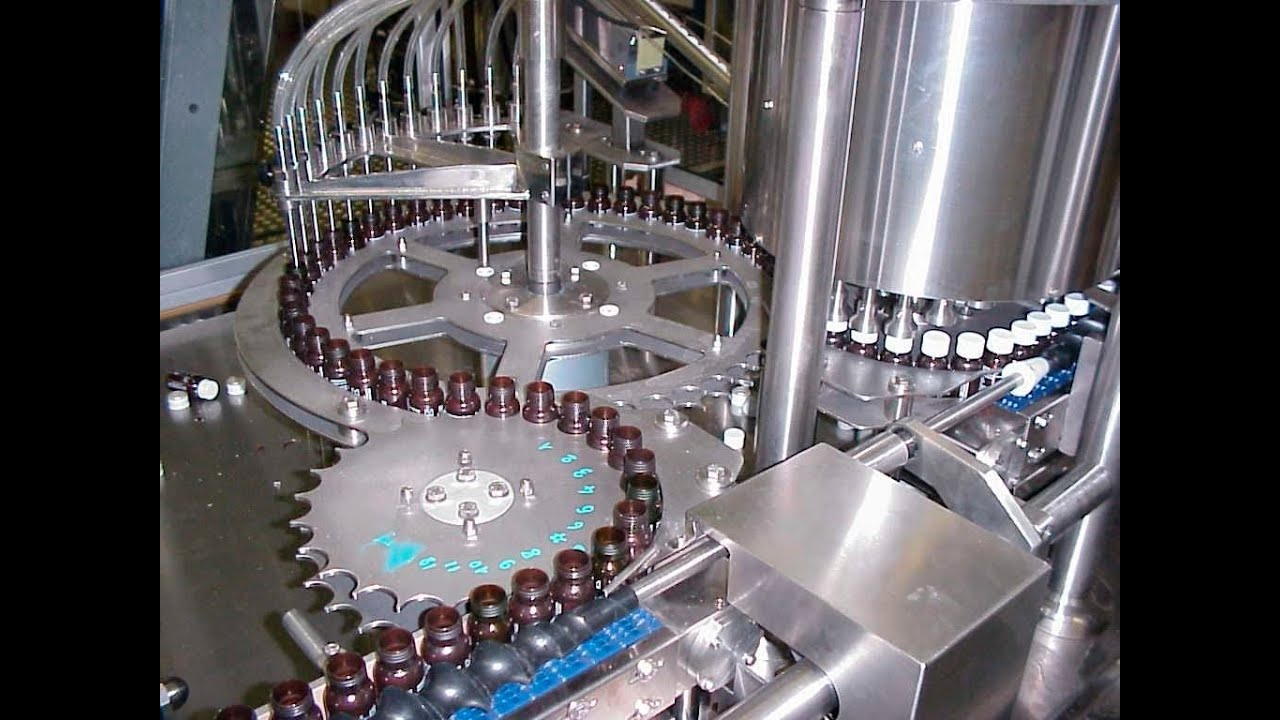 automatic rotary capping machine for plastic bottles