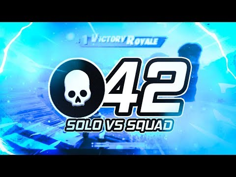42 KILLS WORLD RECORD - SOLO VS SQUAD - Siphon LTM (Fortnite Battle Royale)