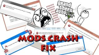 TUTORIAL : how to fix mods crashes on GTA V