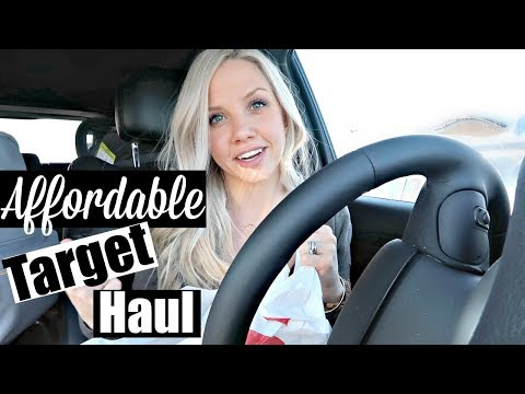 TARGET HAUL 2018 // BEAUTY, TODDLER & BABY CLOTHING, EASTER BASKET IDEAS