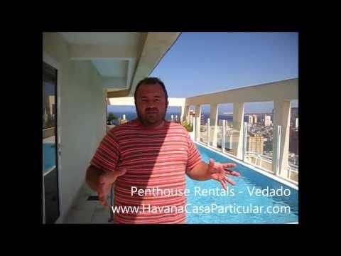Luxury Penthouse in Vedado - www.HavanaCasaParticular.com