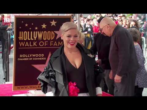 Star power! Pink honored with star on Hollywood Walk Of Fame Mp3