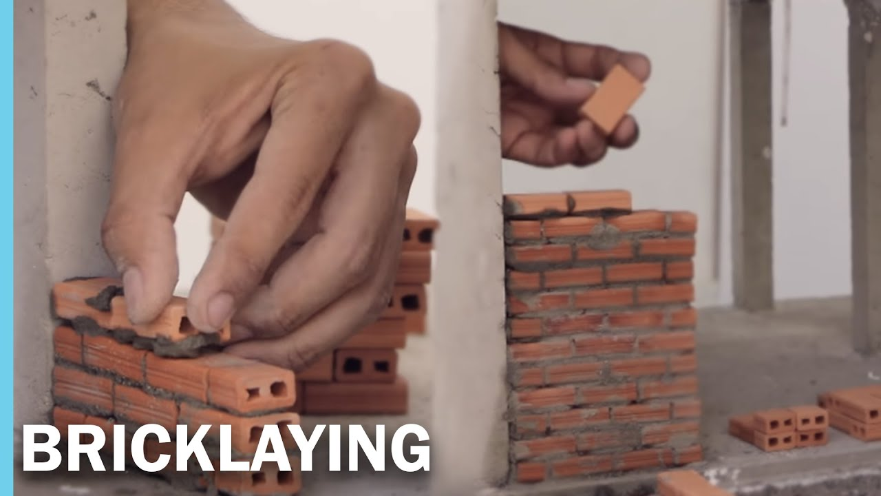 MINI HOUSE -- bricklaying --  MINI CASA -- mampostería  |  OUROBOROS ARQ