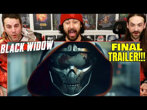 BLACK WIDOW | FINAL TRAILER - REACTION!!!