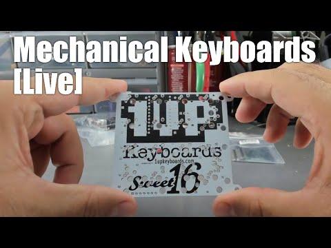 [Livestream] Mechanical Keyboards Live! - Sweet16 White Macro Pad kit build