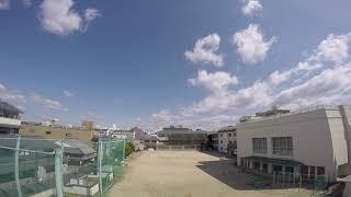 奈良市立椿井小学校の空 2019年4月