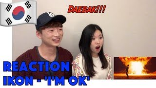 KOREAN REACTION iKON - 'I'M OK' M/V