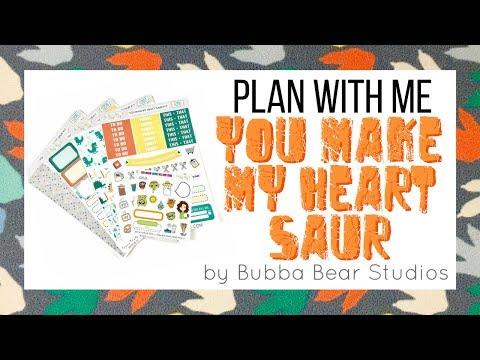 PWM || You Make My Heart Saur || Bubba Bear Studios