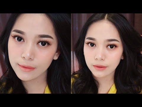 KOREAN MAKE UP LOOK TUTORIAL | Nitha Fitria