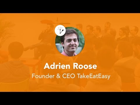 AperoTalk with Adrien Roose, Founder & CEO TakeEatEasy