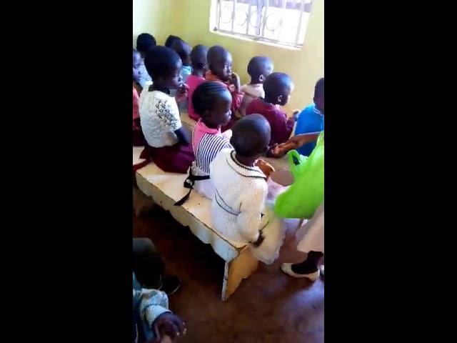 Children Feeding Program WFF Moi's Bridge Kenya 9-2-2018