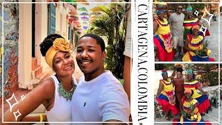 TRAVEL VLOG: CARTAGENA, COLOMBIA - Most colorful city everrrr! 4K Cinematic video