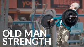 Repeat youtube video Old Man Strength At Muscle Beach