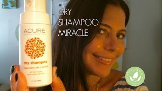 Mommy Greenest Approved Acure Organics Dry Shampoo Miracle Youtube