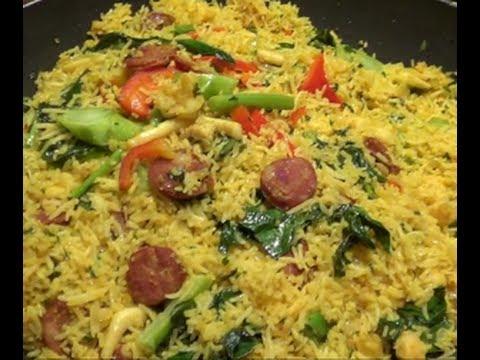 Fried rice combination liz kreate recipe youtube ccuart Gallery