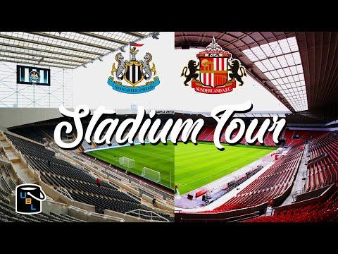 ⚽ Newcastle vs Sunderland - St James' Park & Stadium of Light - Stadium Tour
