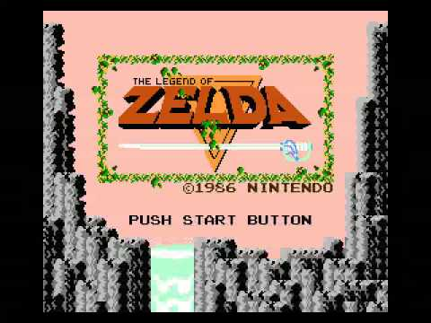 Legend of Zelda NES Intro