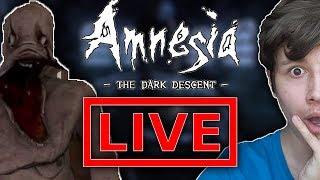 Amnesia Mroczny Obłęd! Gaborek i Czat! - Na żywo