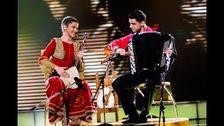 Bojana i Nikola Pekovic finale - Oj Srbijo - (LIVE) - Ja Imam Talenat - (TV RTS 2012)
