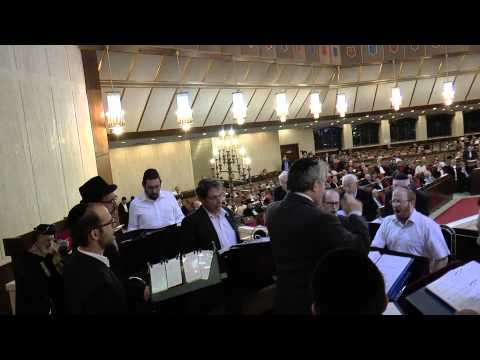 Maariv with Chazan Adler and the Jerusalem Choir at the Great Synagogue